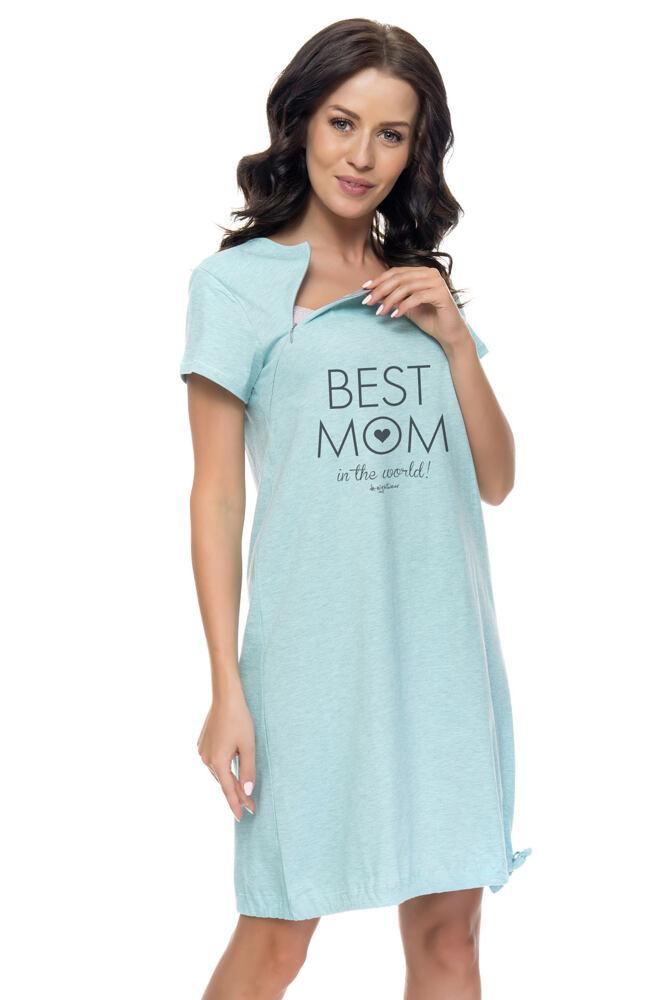 Mateřská noční košile Maria mint velikost S
