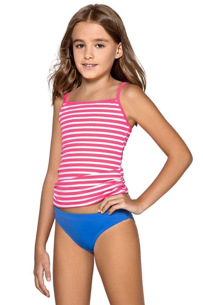 Dívčí tankiny Lili růžové velikost 134