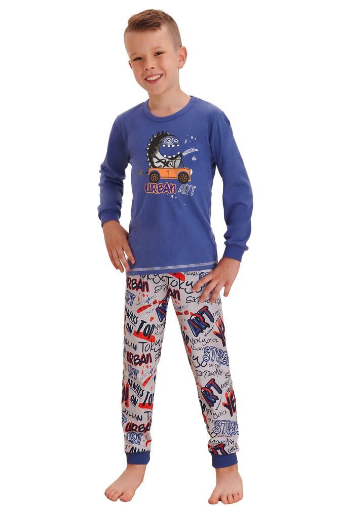 Klučičí pyžamo Miloš street modré velikost 86