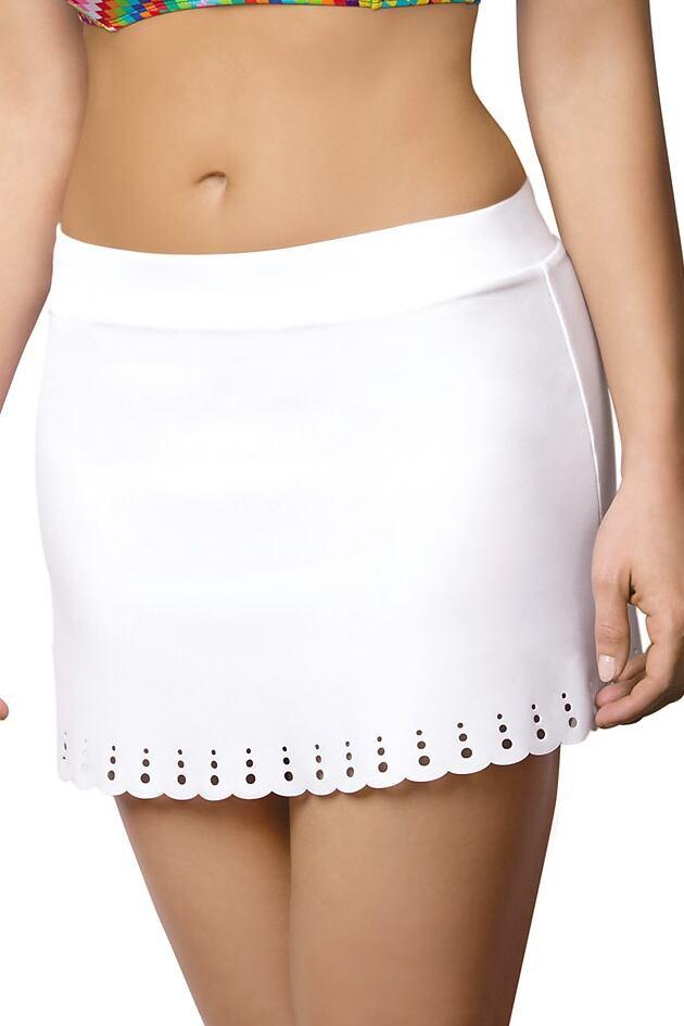Plážová sukně Christine bílá velikost M