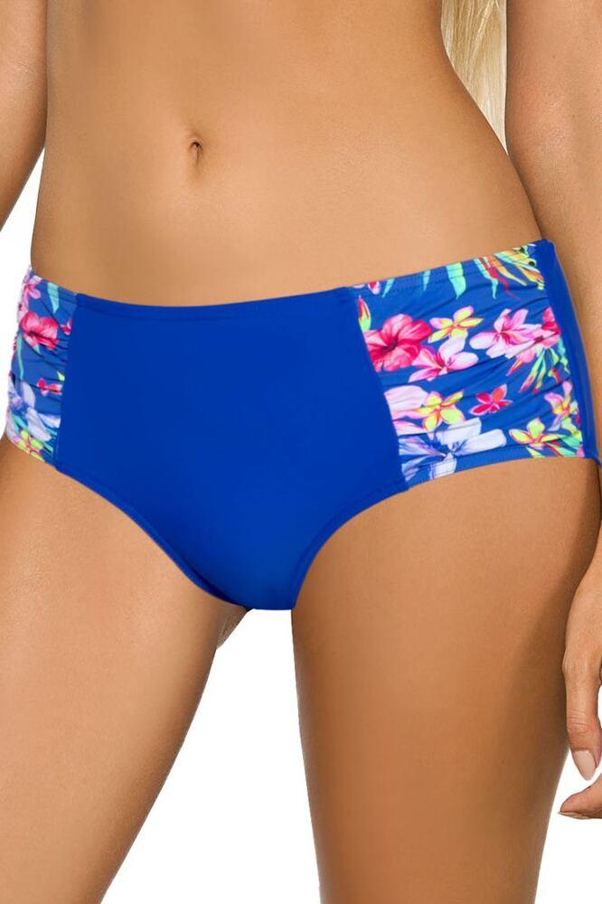 Vyšší plavkové kalhotky Piper modré velikost 3XL