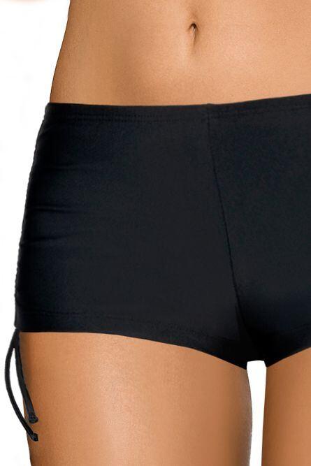 Plavkové černé kalhotky šortkové velikost S