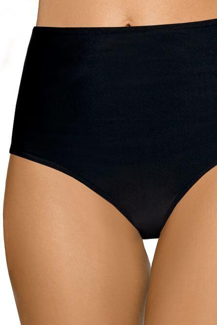 Plavkové černé kalhotky extra vysoké velikost S