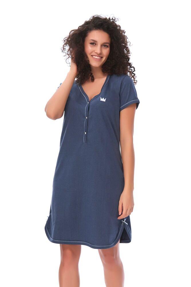 Dámská bavlněná košile Lor tmavě modrá velikost S
