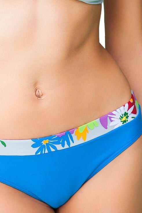 Plavkové kalhotky Floriana modré velikost L