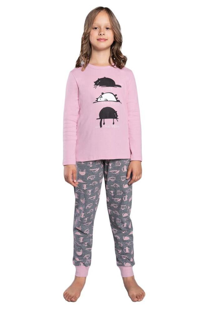 Dívčí pyžamo Dima růžové velikost 98