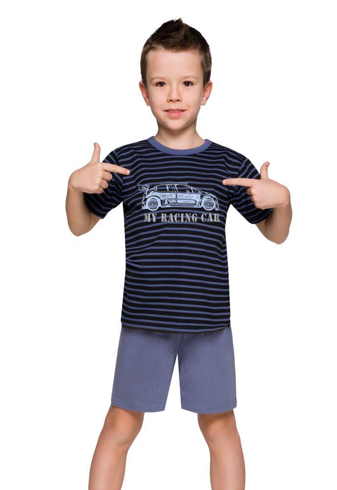 Chlapecké pyžamo s autem Max proužky velikost 92