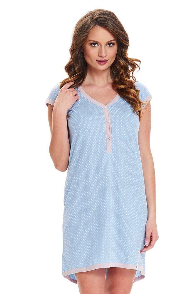 Dámská noční košile Diti světle modrá velikost XL