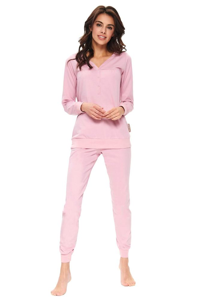 Dámské pyžamo Flamingo organic růžové velikost L