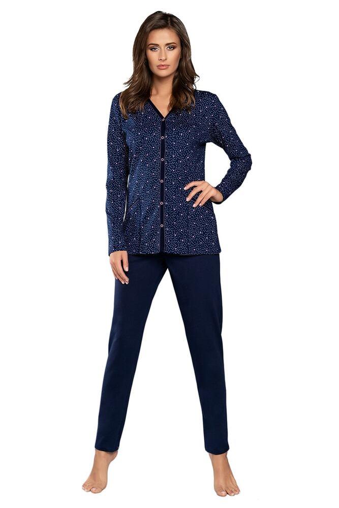 Dámské pyžamo Elba tmavě modré velikost S