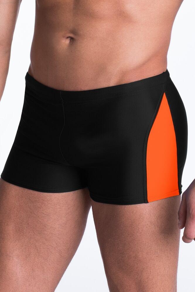 Pánské plavky boxerky David černé velikost S