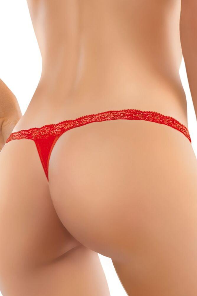 Dámská tanga 83 červená velikost S