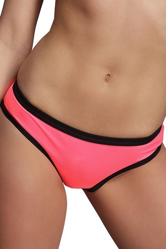 Plavkové kalhotky Naomi korálové velikost S