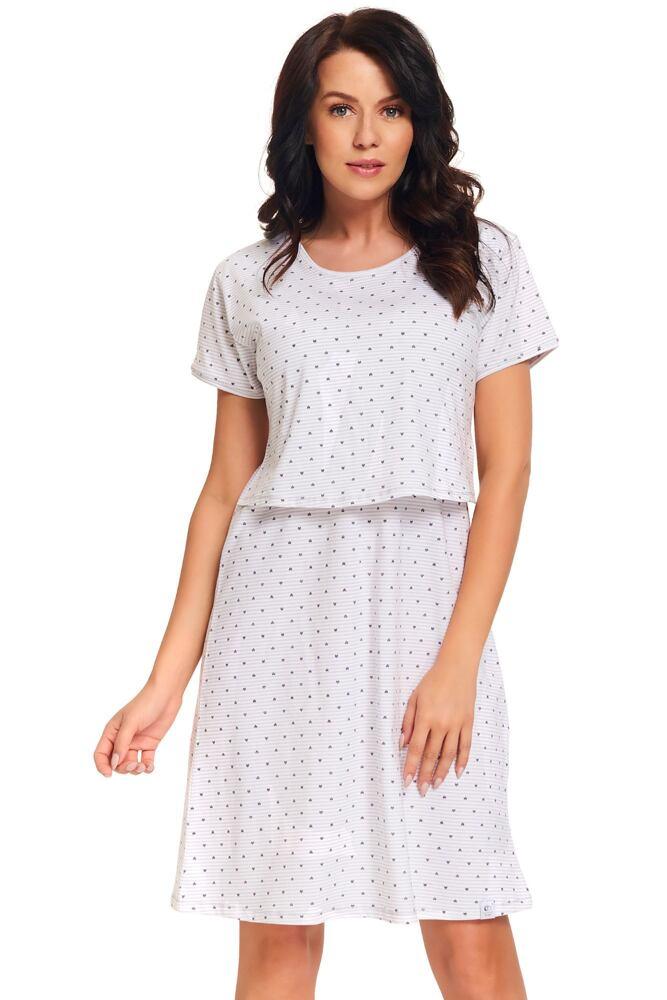 Kojicí noční košile Vixi srdíčka velikost L