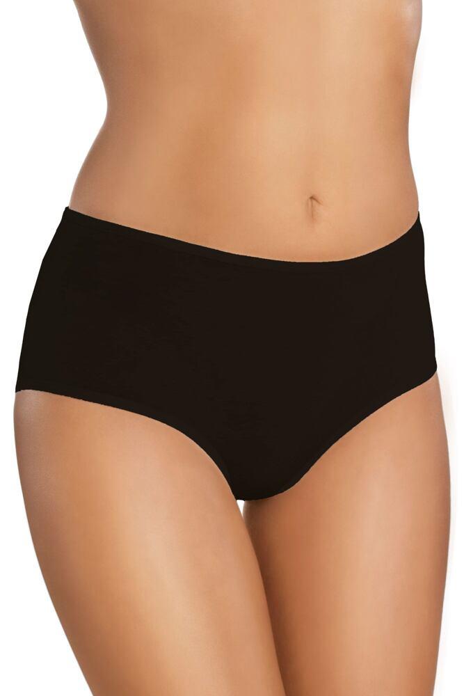 Bavlněné dámské kalhotky 18 černé velikost M 22f76fb90d