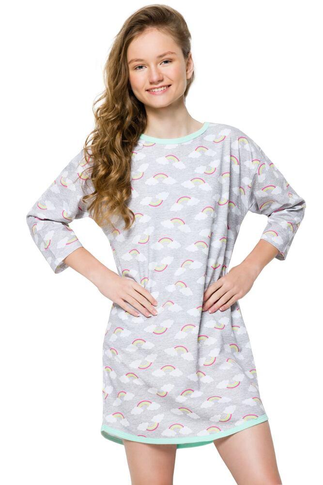 Dívčí noční košile Molly šedá velikost 146