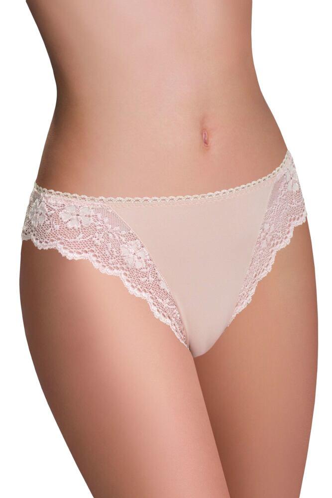 Dámské kalhotky s krajkou Clara béžové velikost S