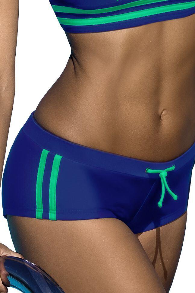 Plavkové kalhotky Laura modré velikost S