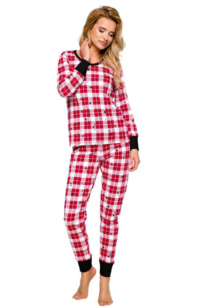 Dámské pyžamo Koko červené velikost XL
