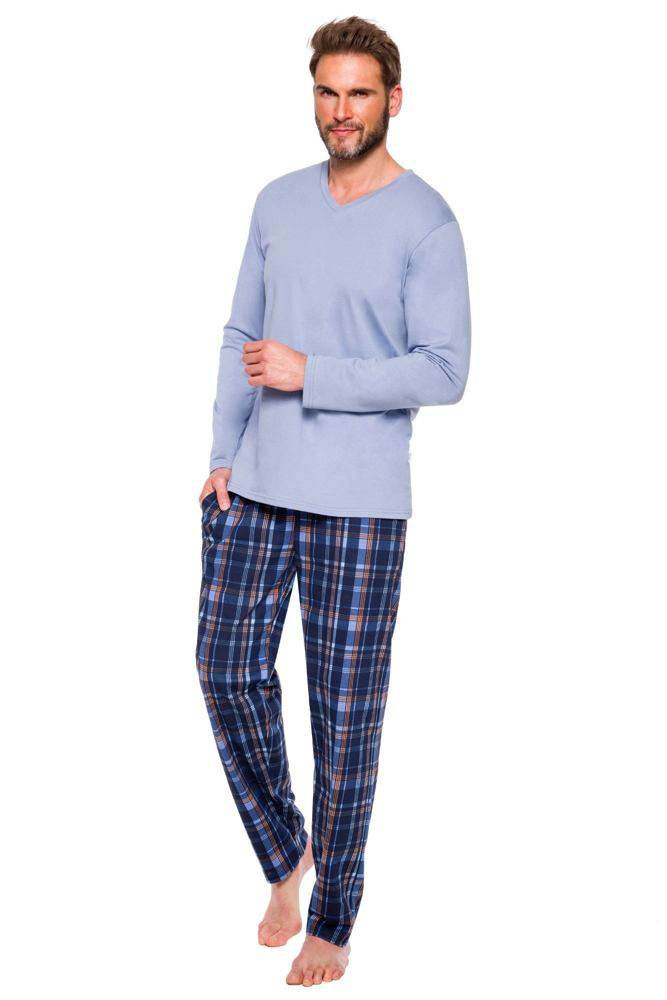 Pánské pyžamo Adam modré velikost XXL
