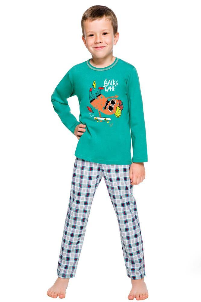 Klučičí pyžamo Leo zelené velikost 92