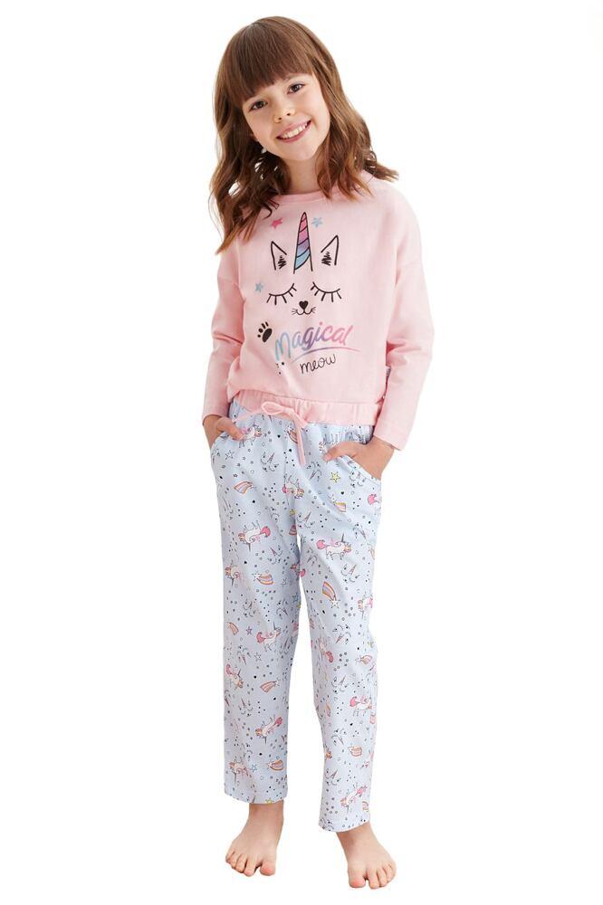 Dívčí pyžamo Nadia růžové jednorožec velikost 92