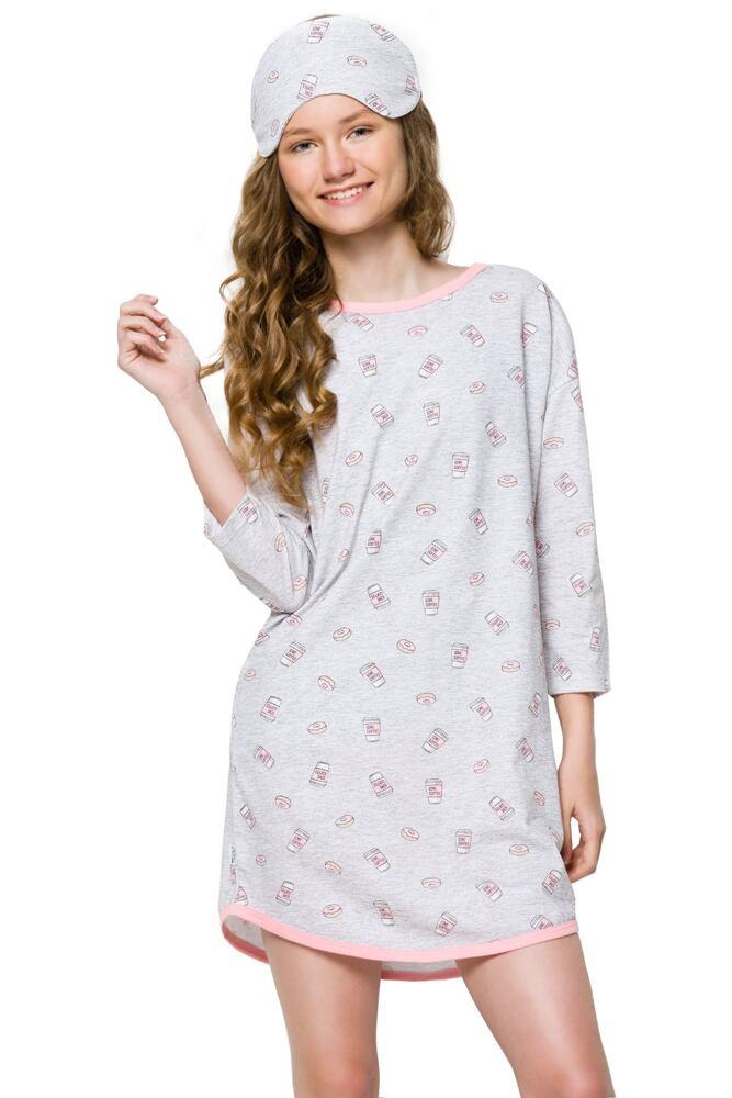 Dívčí noční košile Molly coffee béžová velikost 146