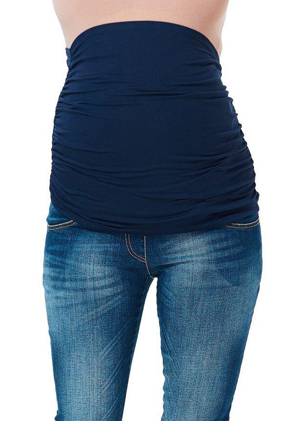 Těhotenský pás tmavě modrý velikost S/M