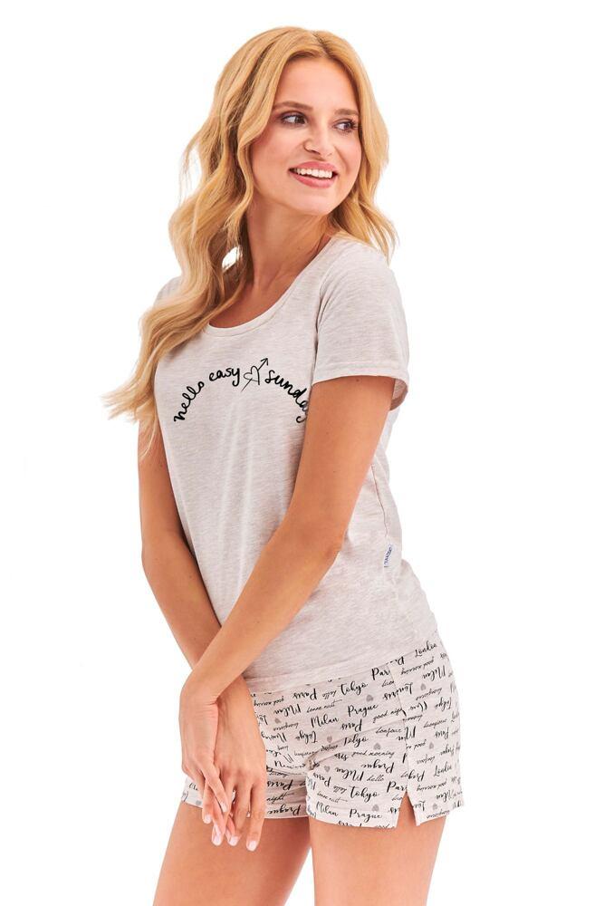 Dámské pyžamo Nika béžové velikost M