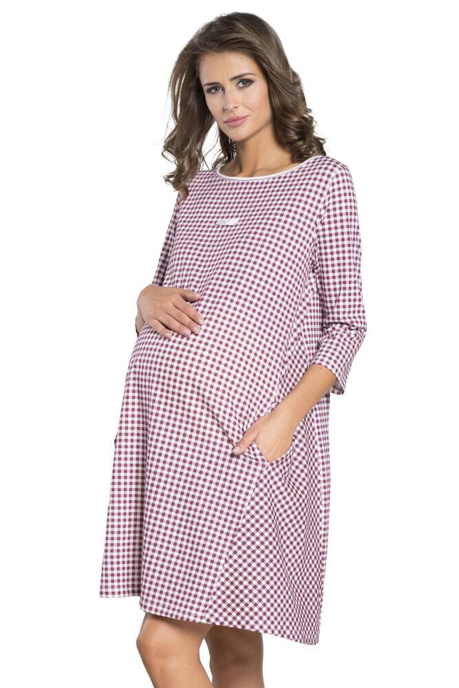 Těhotenská noční košile Venta s kapsami velikost S