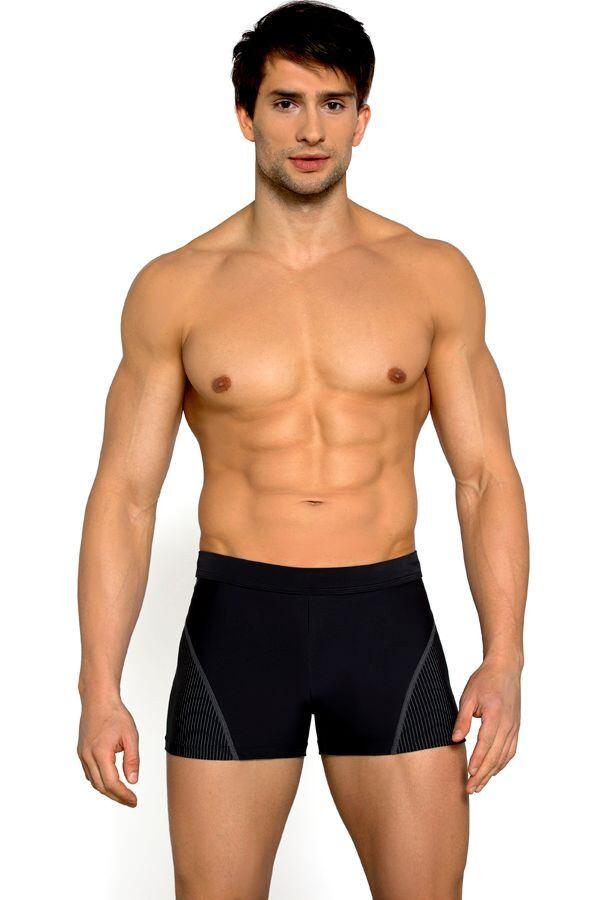 Pánské plavky boxerky Thomas černé velikost M