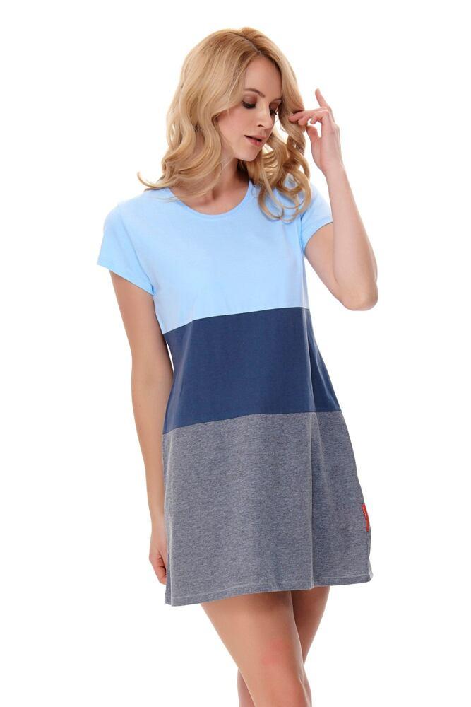 Noční košile Hailey modrá velikost S