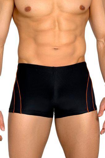 Pánské plavky boxerky Aldo tmavo sivé velikost M