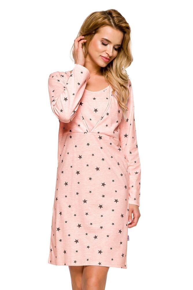 Mateřská košile Linda růžová velikost S