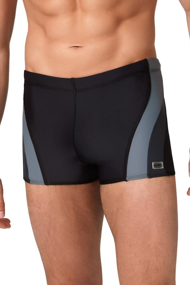 Pánské boxerkové plavky Philip černošedé velikost M