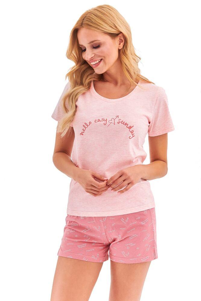 Dámské pyžamo Nika růžové velikost S