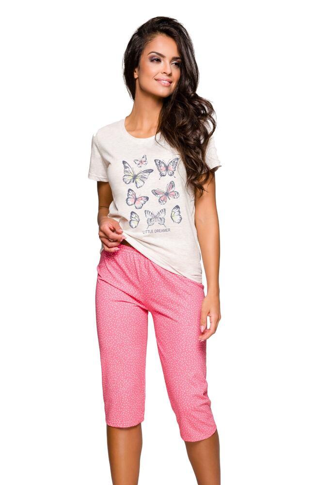 Dámské pyžamo Rachel motýli velikost S