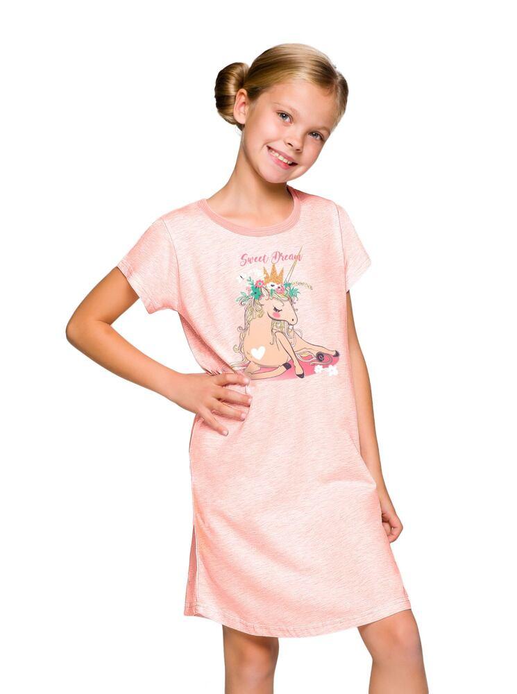 Dívčí noční košile Matylda jednorožec velikost 104