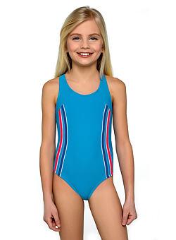 bdf173b7bc6 Dívčí plavky Klárka modré ...