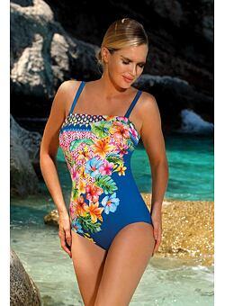 1cabb1dbdb Nové Doprava zdarma Dámské jednodílné plavky Mexico modré