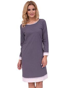 67af8890c Luxusní dámské bavlněné pyžamo Iva s puntíky - ELEGANT.cz