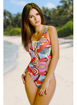 Nové Doprava zdarma Jednodílné plavky Maddie pestrobarevné 6f5d063411